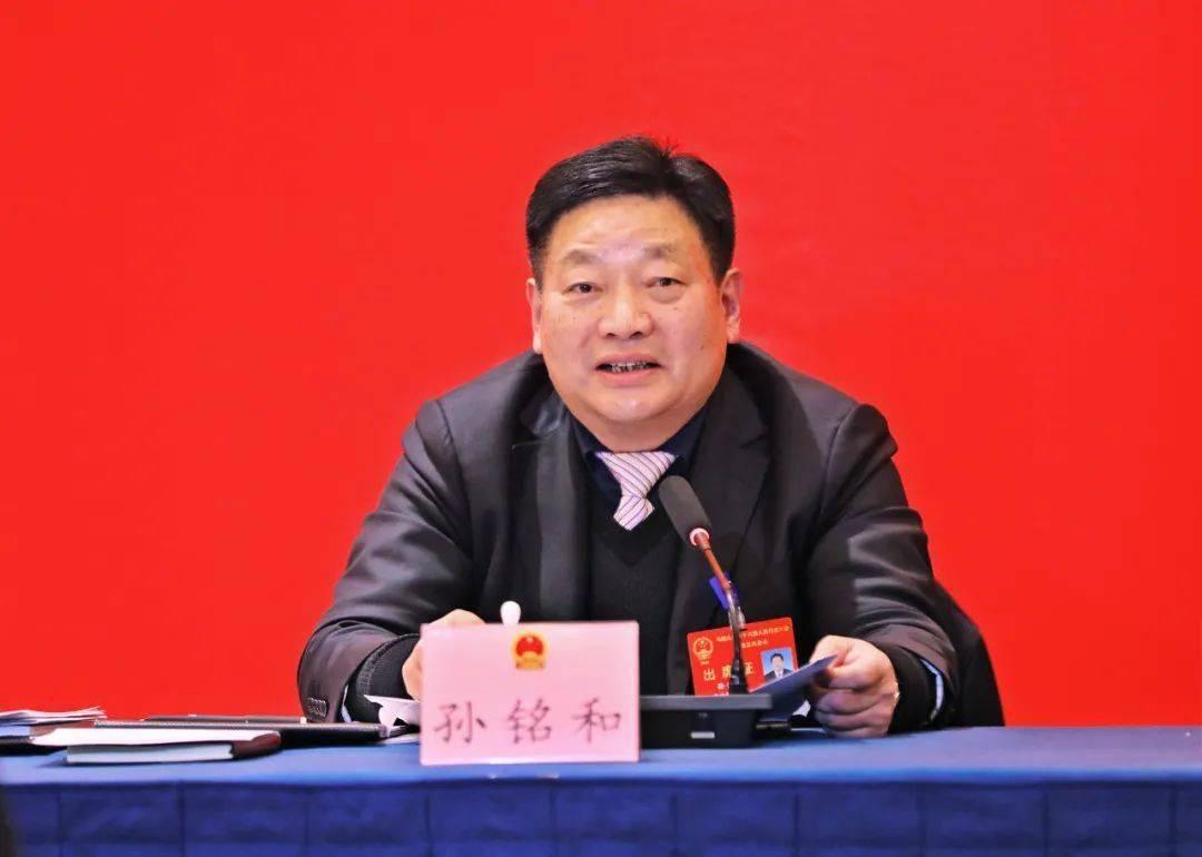 孙铭和参加含山县代表团审议《政府工作报告》时指出