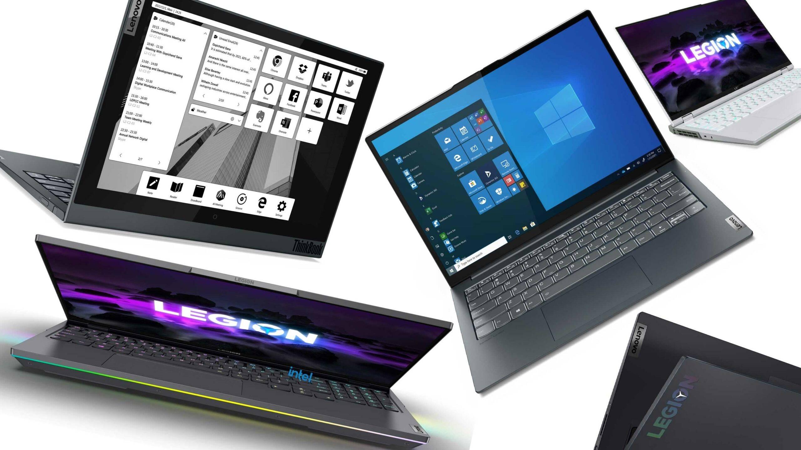 CES 2021直击:笔记本行业狂欢,性能提升太多!