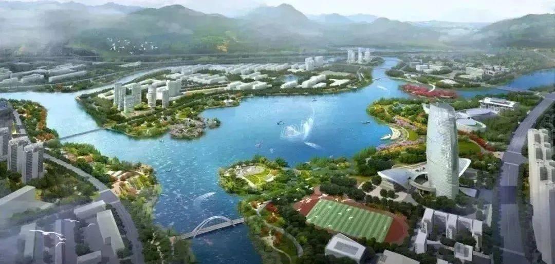 对标中心城区!福州大学城建设方案正式印发!最大人工湖初具规模!