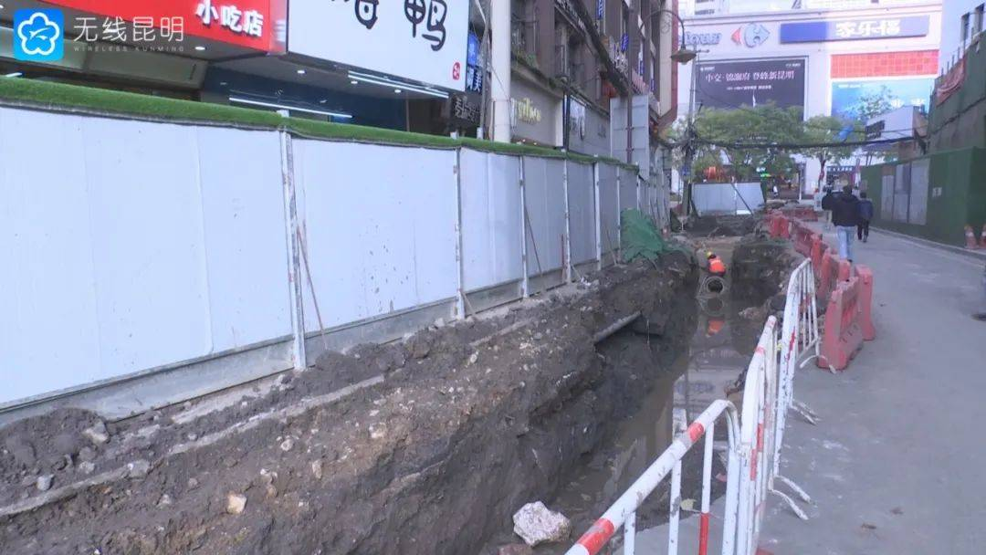 祥云街挖出青石板的后续来了!部分路段有望恢复青石板路
