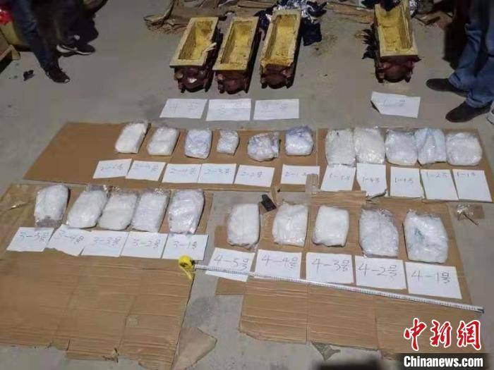 雕塑夹层藏毒约20公斤 贵州松桃破获特大运输毒品案