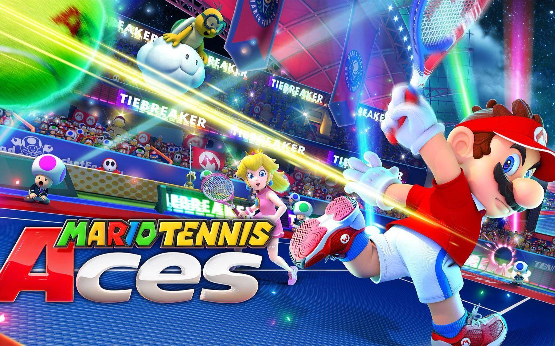 国行游戏库再添一员:《马力欧网球 王牌》1月14日发售