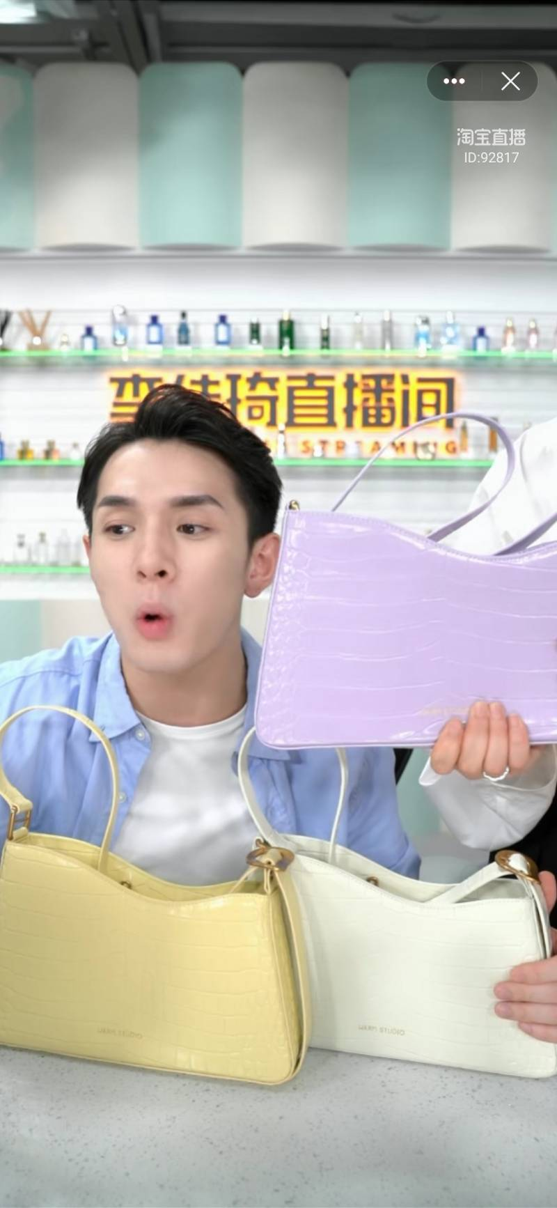 广州夫妻档品牌成李佳琦直播常客,一款女包一次卖了150万