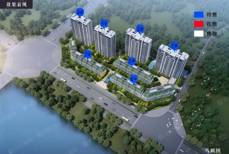 富徽·江澜轩江景高层、创新叠墅即将入市,首开57套房源