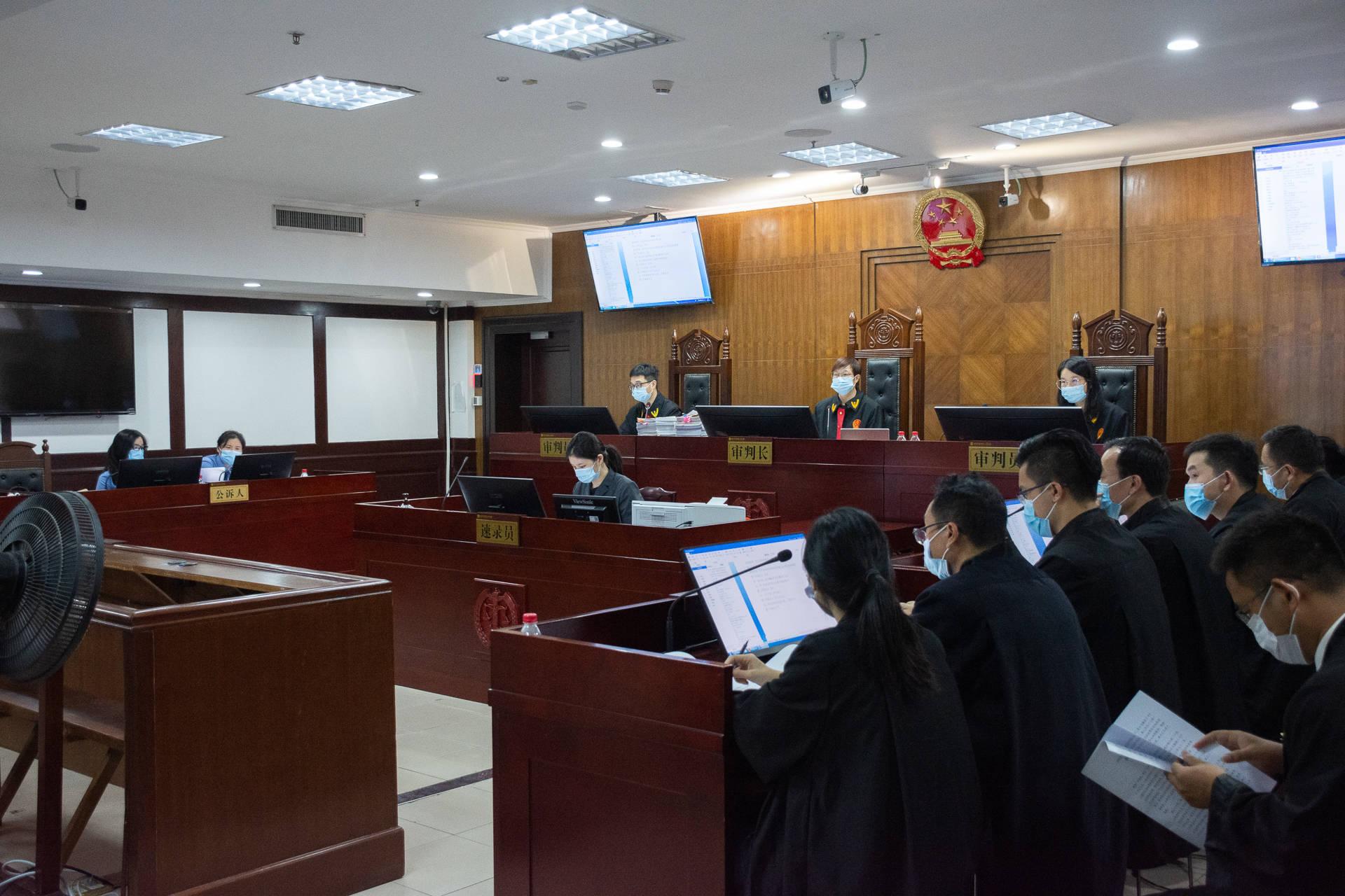 龙岗区人民法院:审结涉黑恶案件48件321人