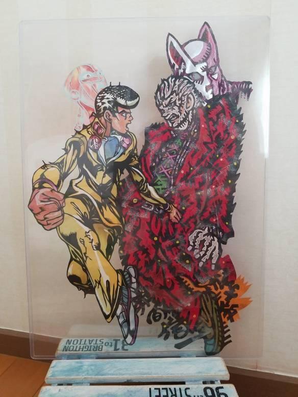 """JO厨""狂喜!纸雕艺术家カッパ《JOJO》系列作品赏_奇妙冒险"