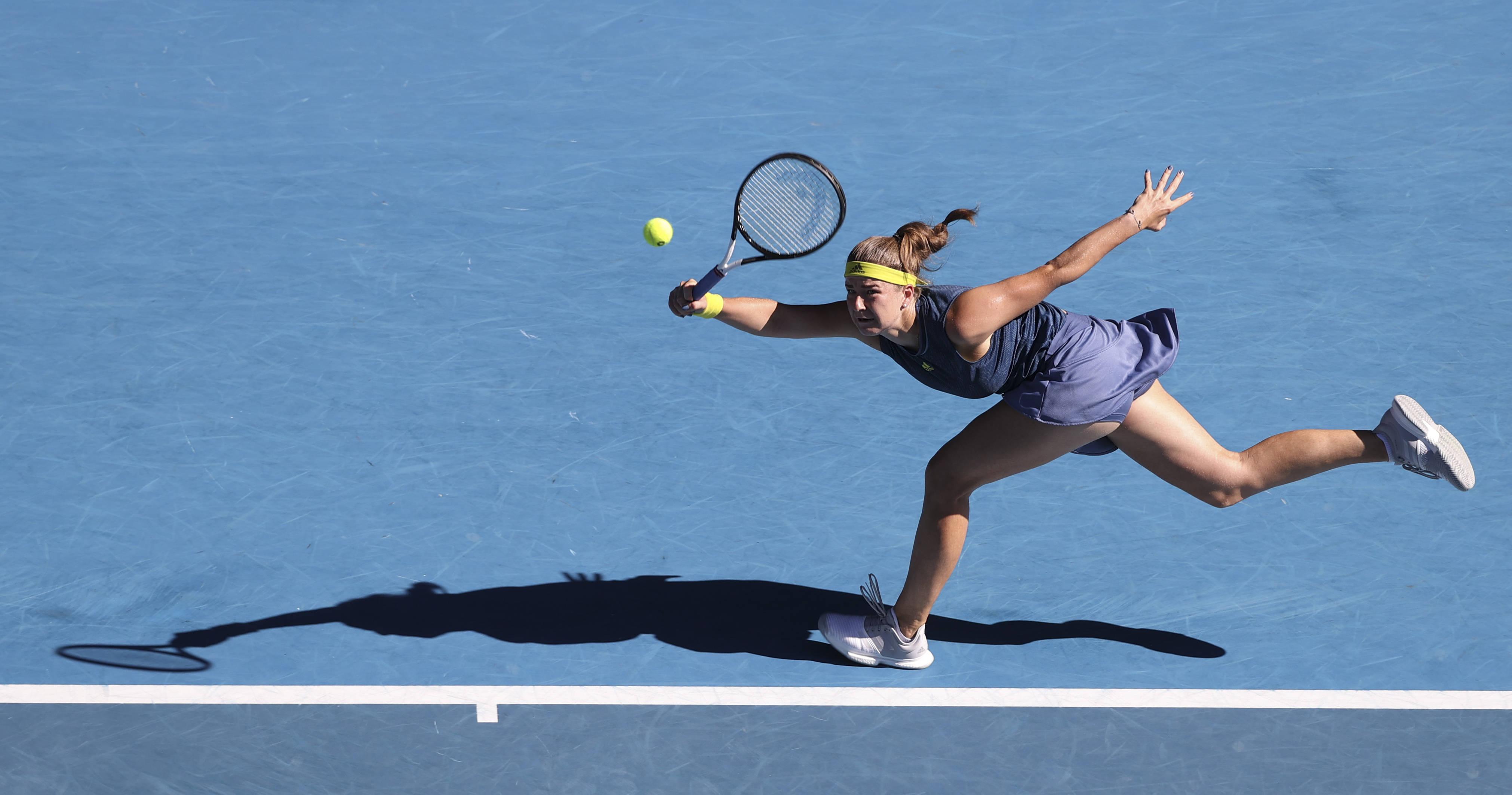 澳网女单决赛:穆霍娃对战布雷迪