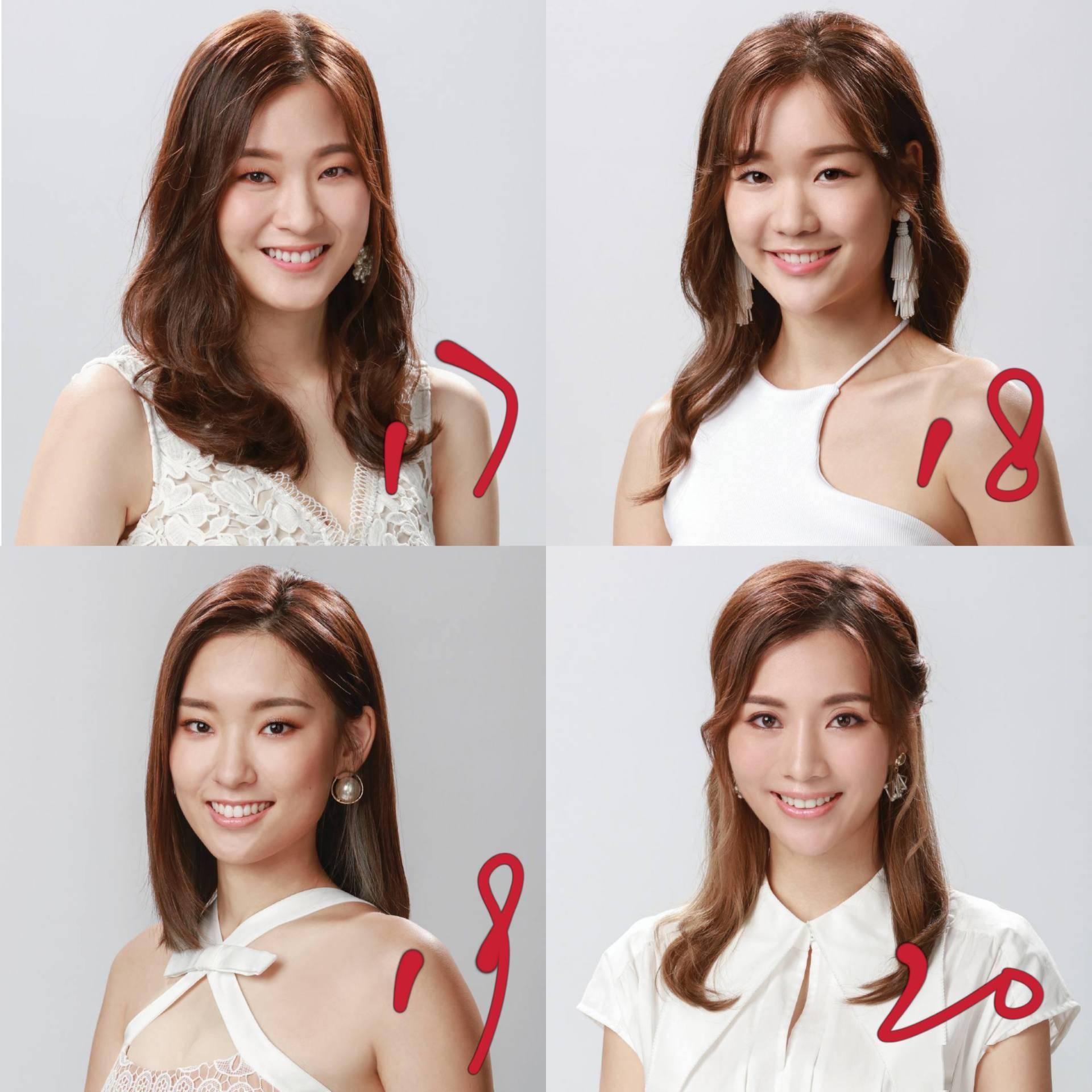 2021香港小姐选美28强精修照曝光,质量偏高,四大热门各有特色