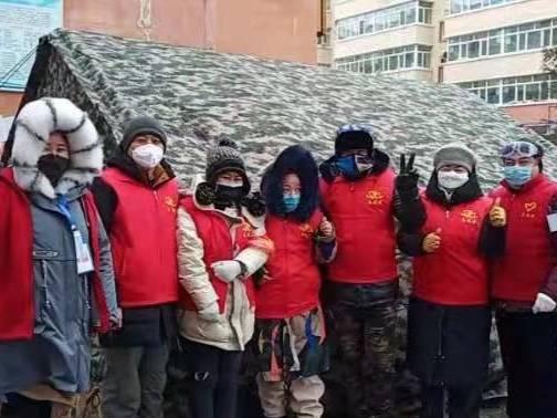 黑龙江拜泉县抗击疫情志愿同行第100天