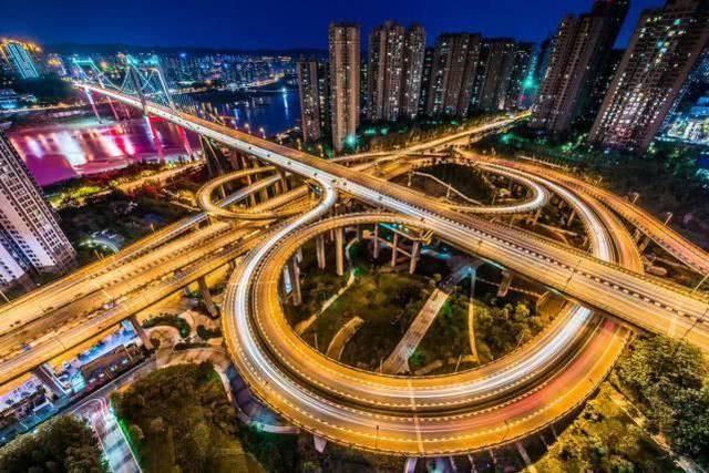 世界上第一复杂立交桥 重庆导航有那么夸张吗