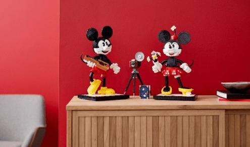 乐高迪士尼米奇和米妮套装全新上市