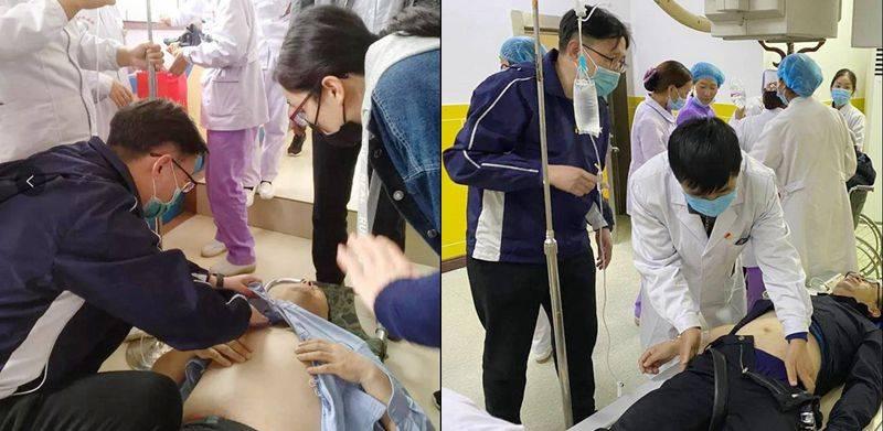 天津滨海:海滨人民医院援青医疗队争分夺秒挽救伤者生命