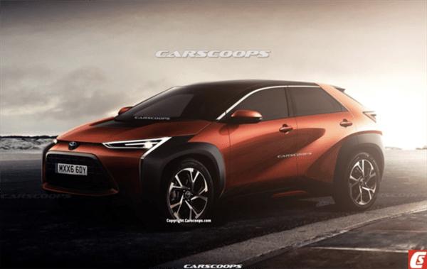 SSC设计-丰田新款纯电SUV效果图曝光 2022年推出