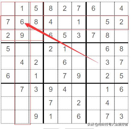 数独快速计算公式(9*9数独高级解法技巧)