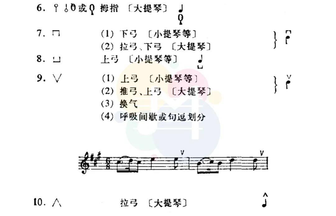 钢琴谱上的特殊符号(钢琴谱所有符号解析)