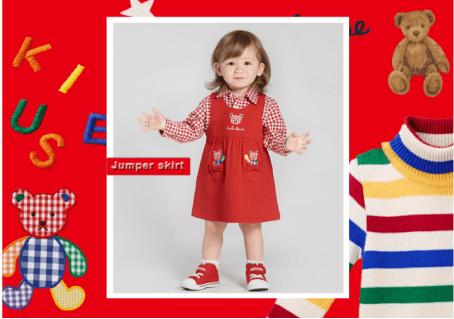 工艺和历史兼具 MIKI HOUSE 2020秋冬新系列