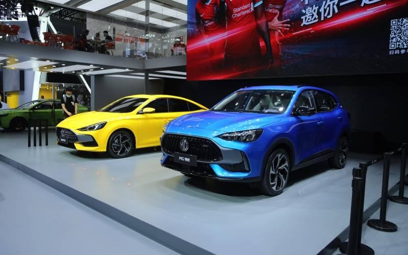 全新MG5全球首秀 MG携最强阵容登陆2020北京车展