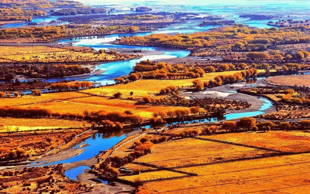 秋之林芝 | 秋天的尼洋河,被深度美颜的美景