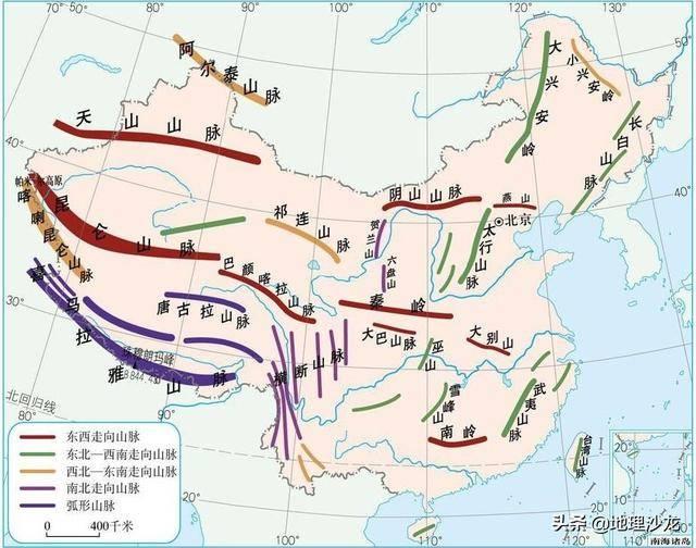 地貌类型七大地形(地貌类型及其特点成因)
