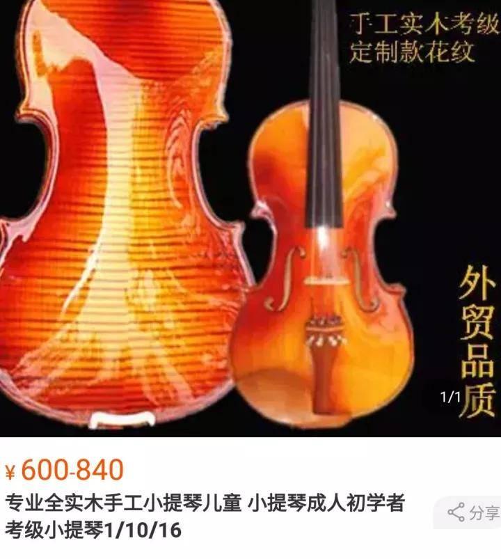 学小提琴烧钱吗(一把小提琴为什么这么贵)插图