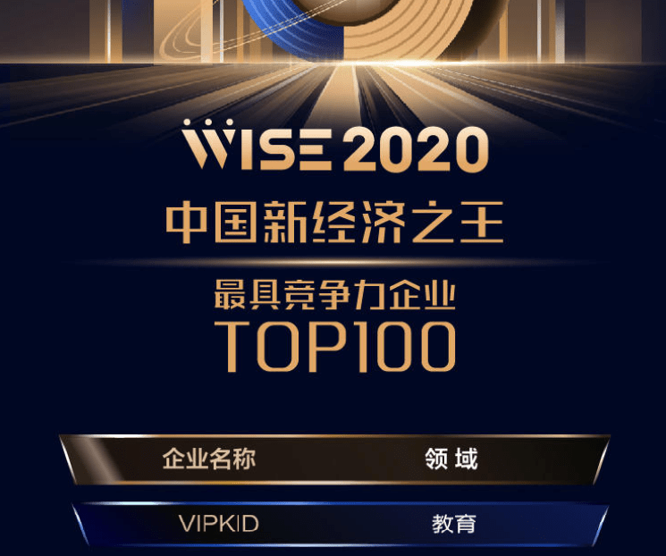 连续三年入选新经济500强榜单,VIPKID强在何处?