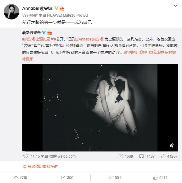 任正非之女姚安娜官宣进军娱乐圈的照片 - 4