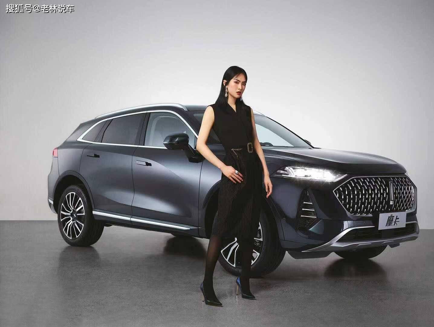 原WEY推出全新旗舰SUV,取名摩卡,2.0T爆款213马力,霸气外观