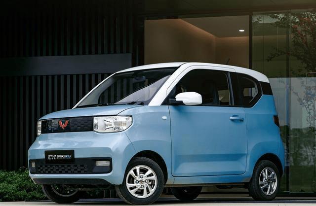 本田造的K-CAR,圆形大灯公式尾灯,发动机排量小于0.66L L。