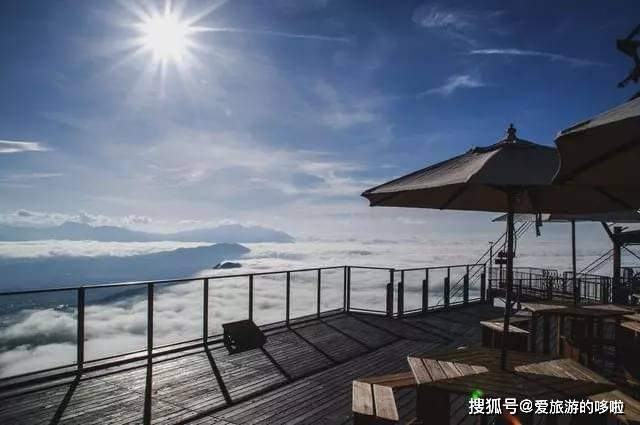 日本长野县网红咖啡馆,坐在云上享受下午茶如何?