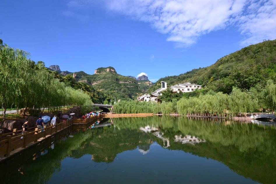 """河北耗资12亿开发的景区,人称邯郸""""小九寨"""",门票80胜过京娘湖"""