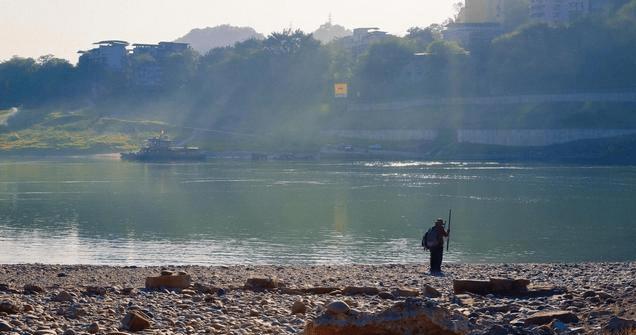 重庆北碚白羊背,嘉陵江畔的光阴故事
