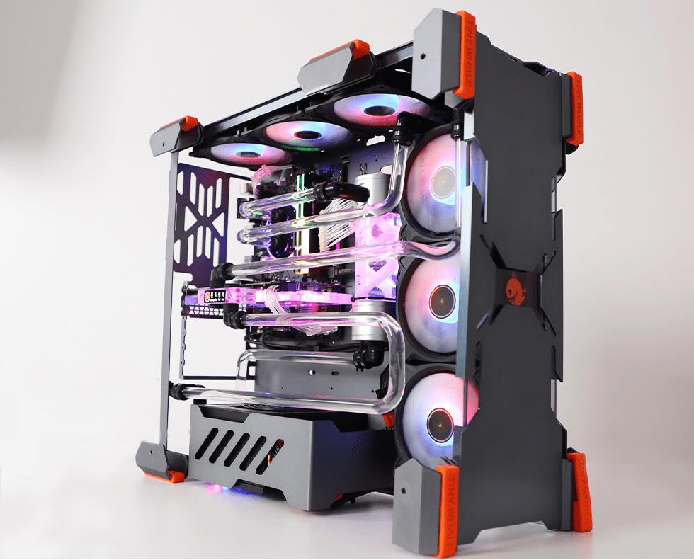 原装水冷电脑6000元:配RTX 2060,风扇齐全