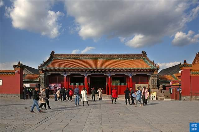 沈阳故宫,中国仅存两大宫殿建筑群之一,至今有300年沧桑岁月