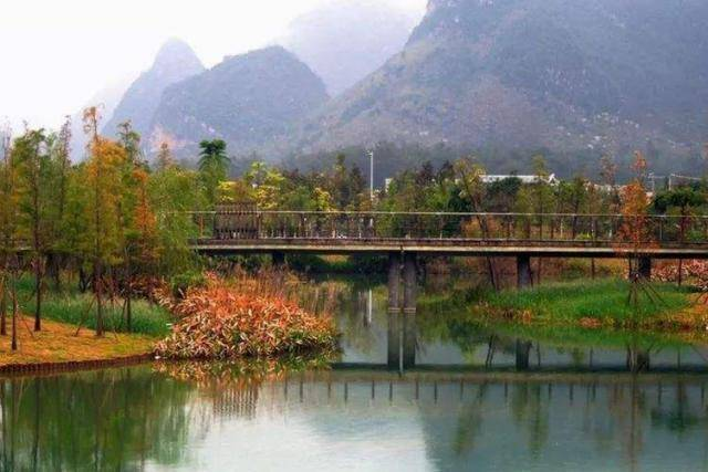广西又一火爆公园,山水秀丽不输桂林,却不要门票免费开放