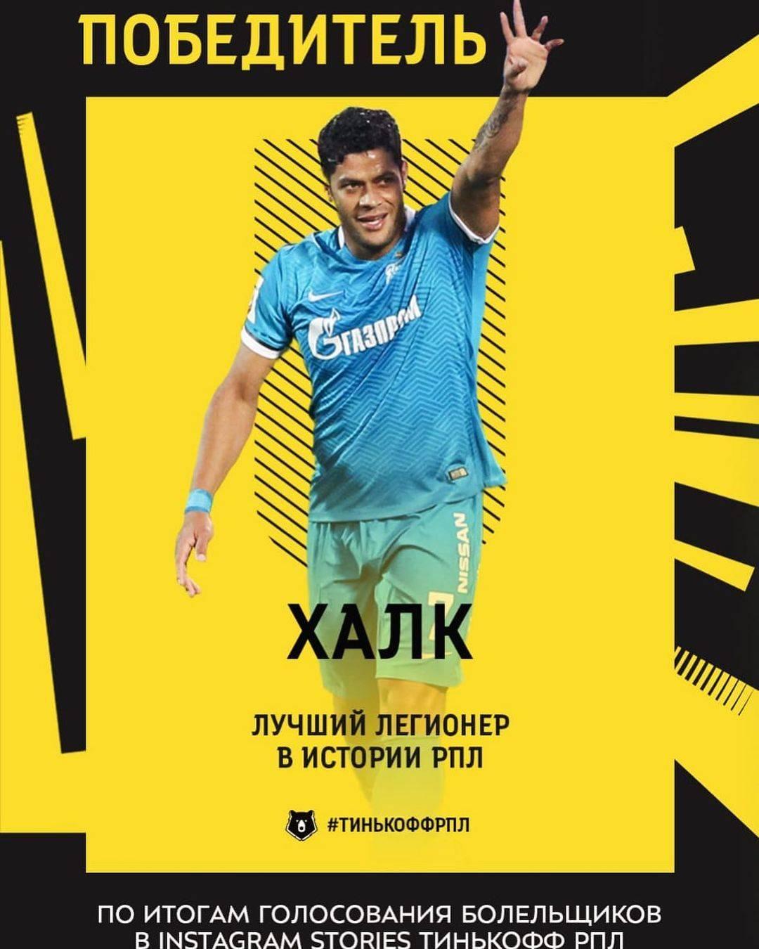 胡尔克自宣获俄罗斯历史最佳外援 4赛季贡献76粒进球