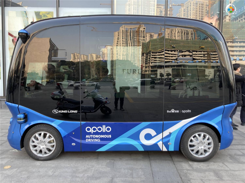 全球首个商圈无人车项目落地重庆,可乘坐14人,春节与大家见面