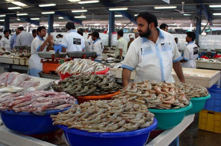 """身为""""土豪""""的迪拜人,每天吃啥?看了当地菜市场,这才是有钱人"""