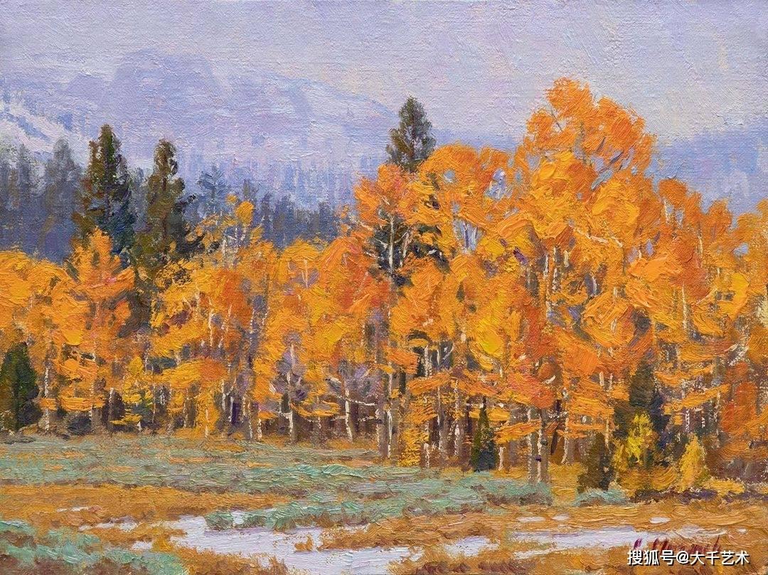 美国现实主义画家查尔斯穆恩奇油画作品欣赏