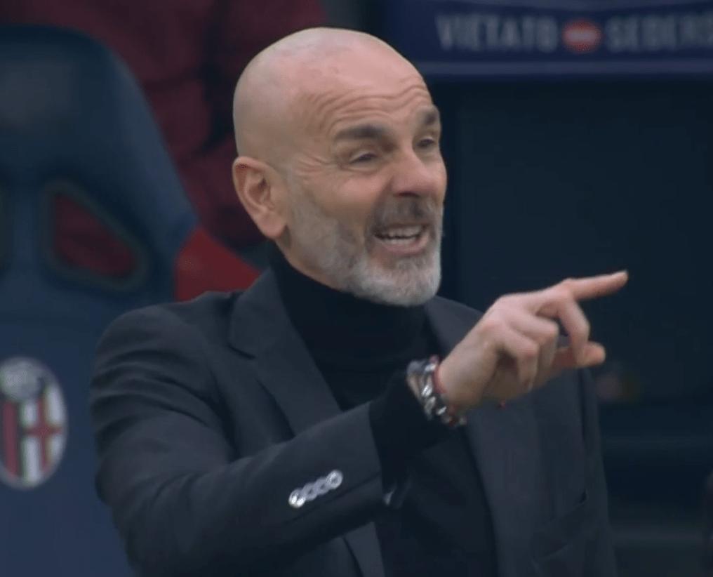 意甲第20轮,AC米兰客场2-1打败博洛尼亚