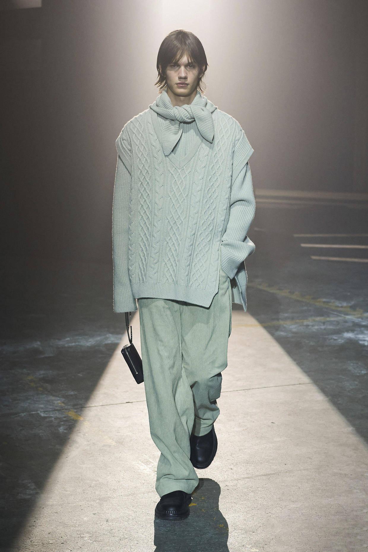 2021/22秋冬米兰男装时装周 诠释当代男装之美! 爸爸 第34张