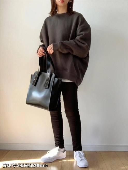 155cm小个子女生别错过休闲裤 照这4种方法选 显高显腿长 爸爸 第10张