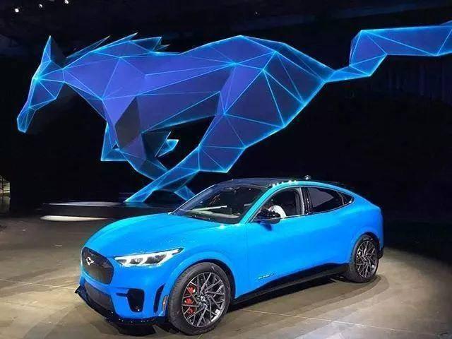 2021年新能源市场风起云涌,特斯拉或被这些新车合力绞杀_Mach-E