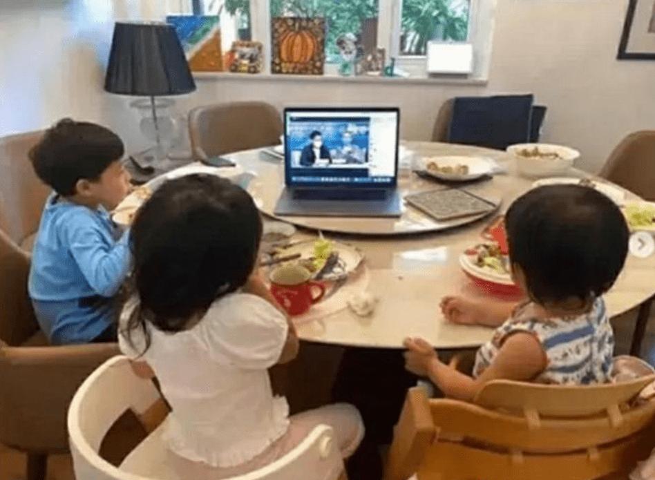 """霍启刚晒孩子早餐照,""""豪""""华程度堪比王室,网友:这才是富养"""