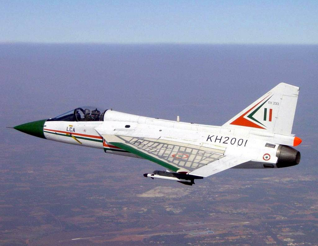 First TD prototype of LCA Tejas KH2001