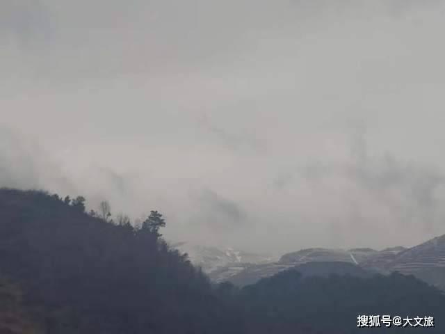 组图!苍山负雪,昭通乐居下雪了