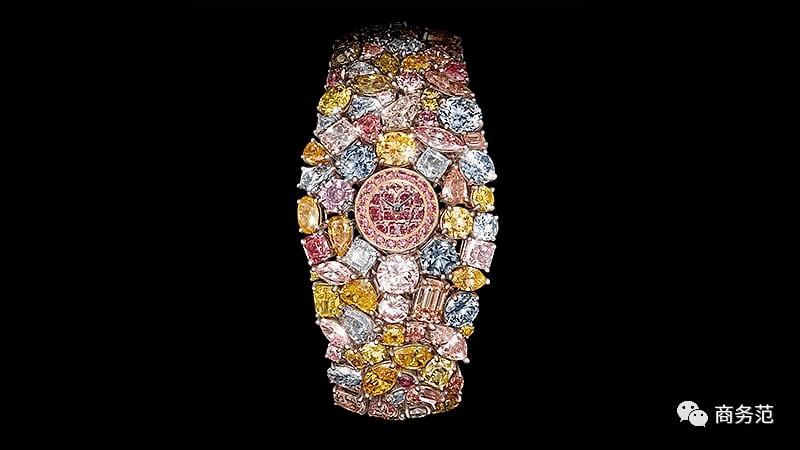 额头镶1.5亿粉钻,富豪晒钻姿势奇葩大赏