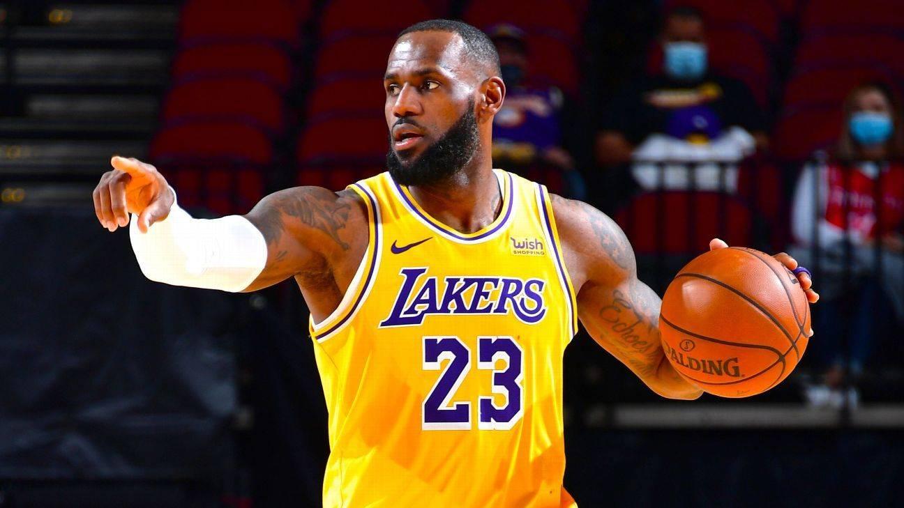 原创             NBA最强矛盾之争!篮网联盟第一进攻迎考验:湖人4铁闸锁死欧哈?