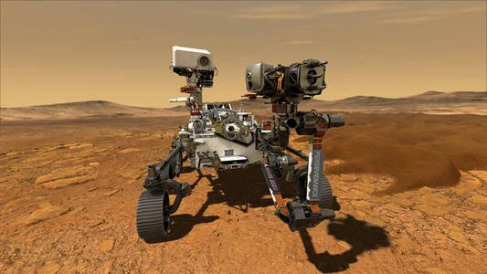 """【""""毅力""""号火星车成功登陆后#NASA团队记者会上撕毁应急预案#】"""