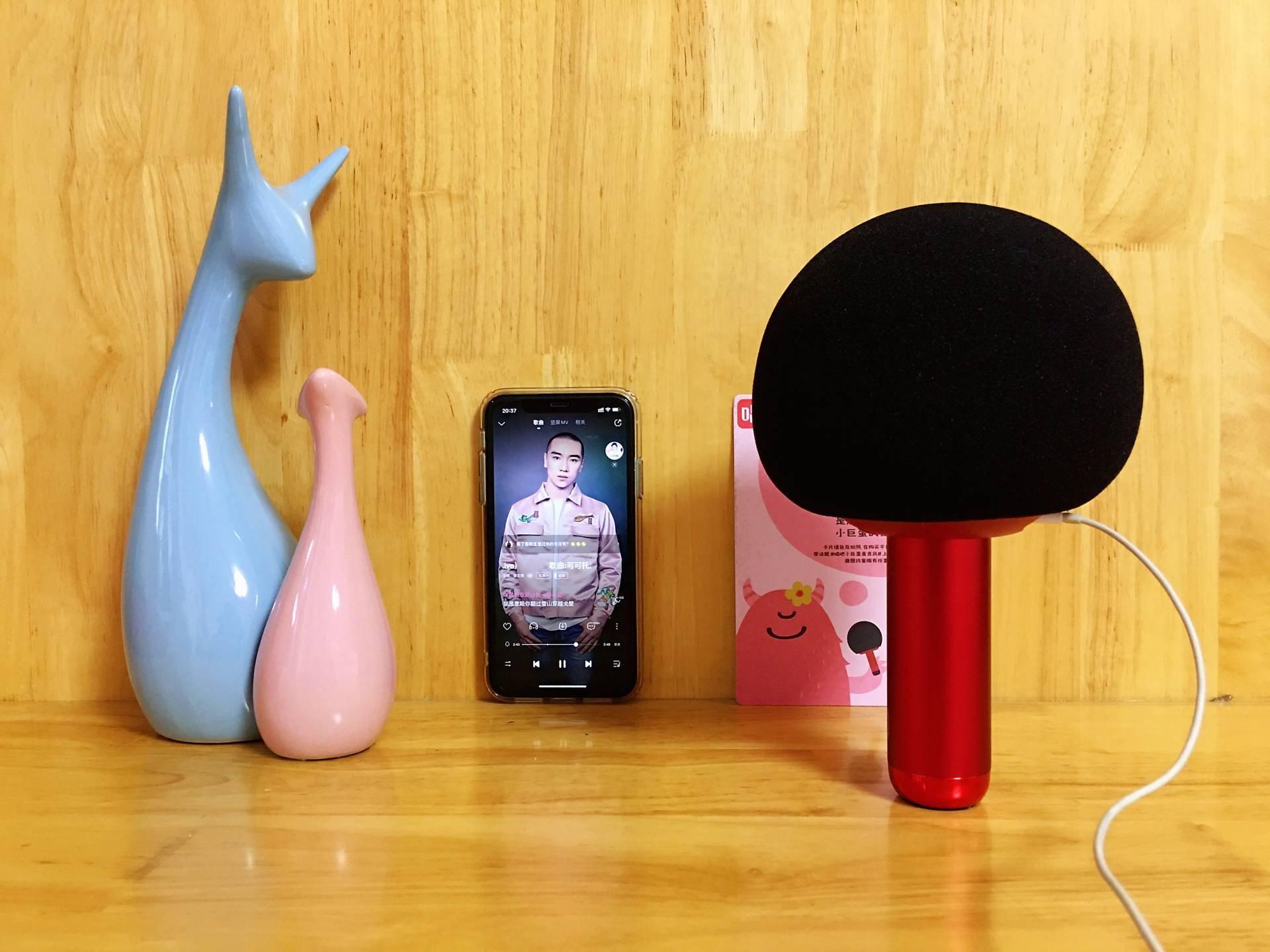 一个人唱得嗨,一群人威廉亚洲app玩得疯,唱吧小巨蛋Q5麦克风体验