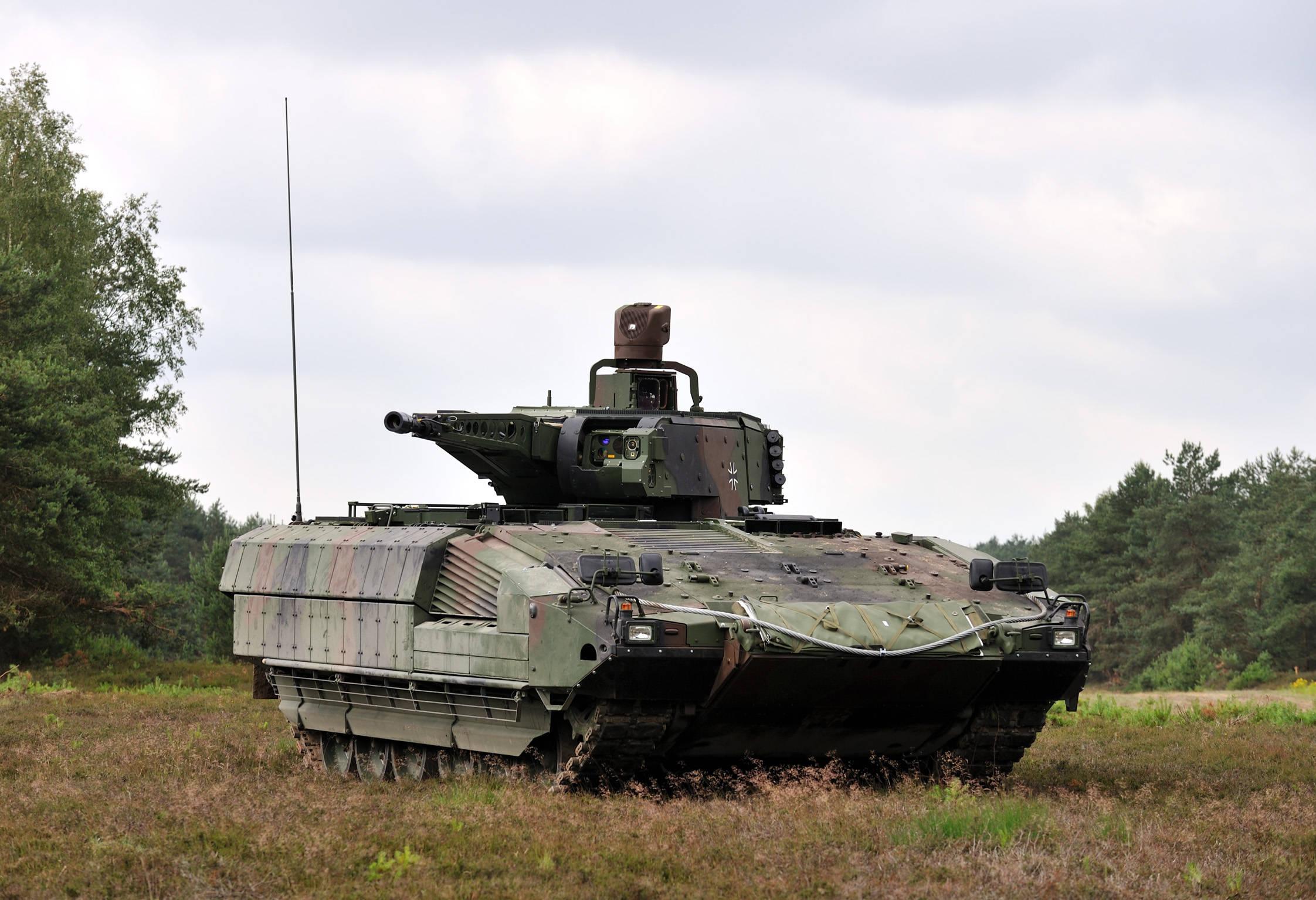 德国陆战王牌,其工艺精湛,颜值极佳的步兵战车